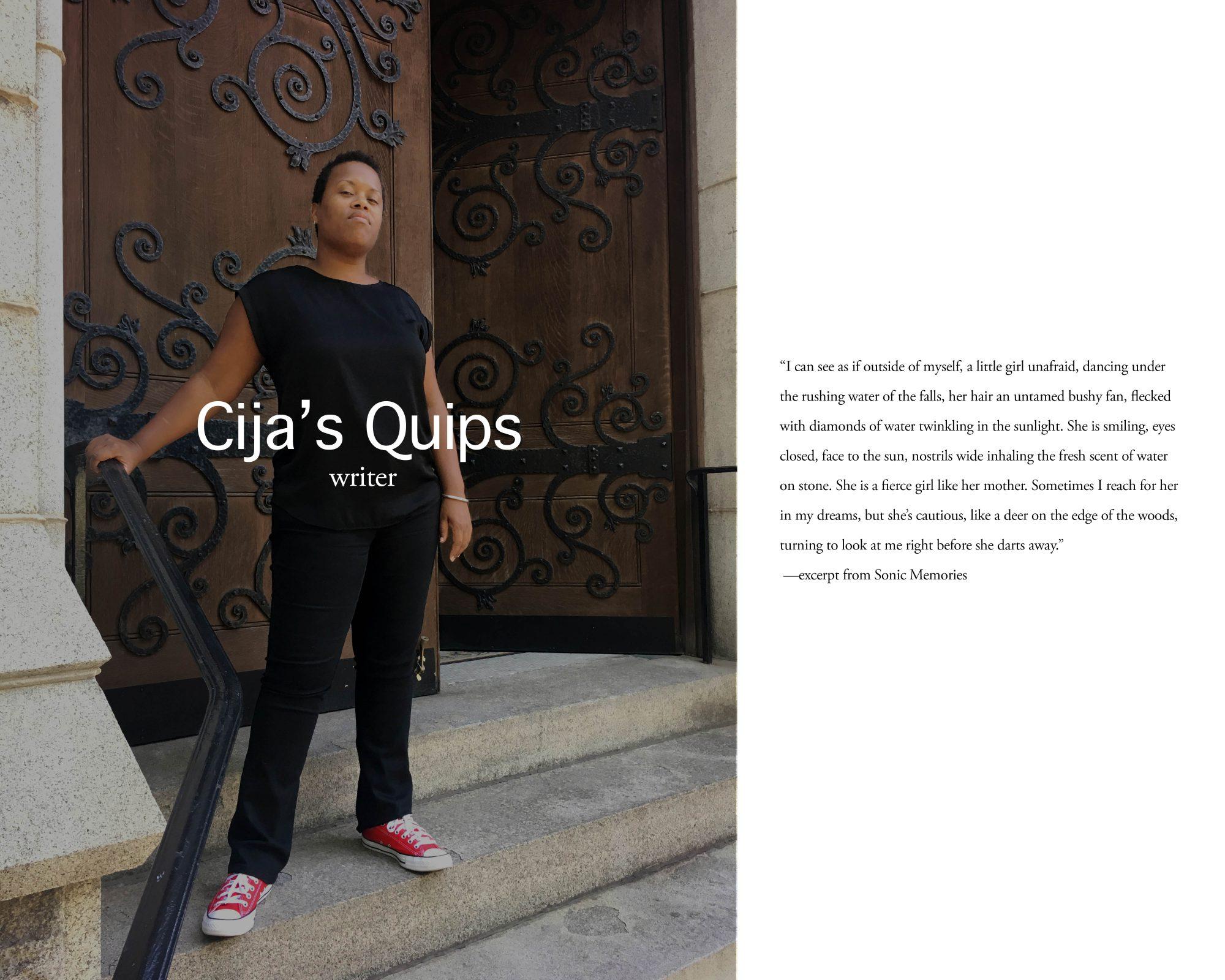 Cija's Quips